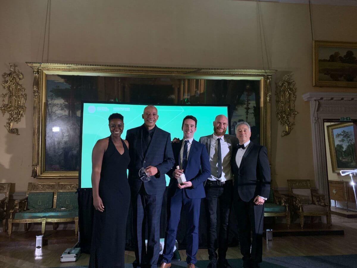 Africa Oye trustee group photo at awards ceremony
