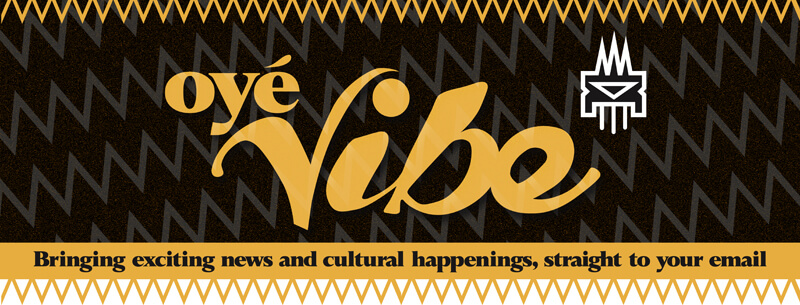 Oyé Vibe logo banner.